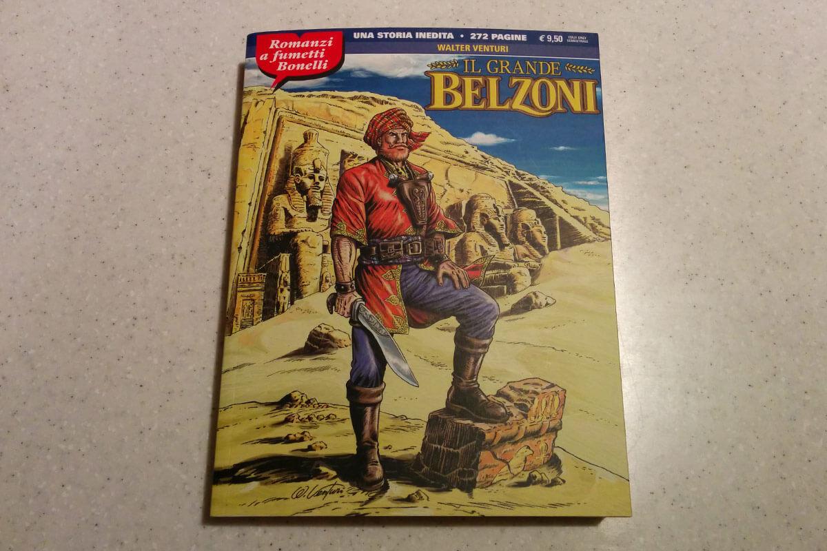 Il Grande Belzoni, romanzi a fumetti Bonelli #10