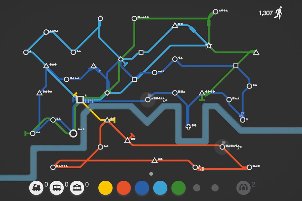 Mini Metro, puzzle minimal quasi simulazione