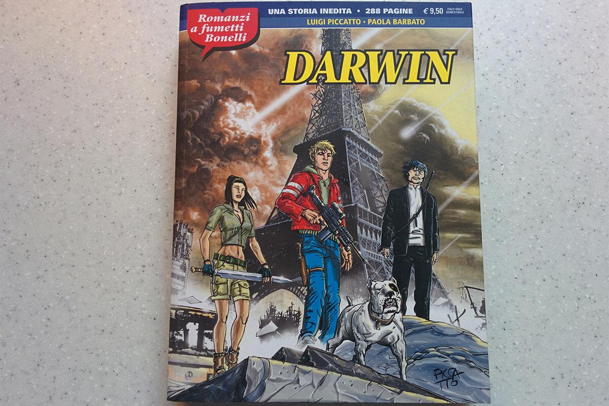 Darwin, romanzi a fumetti Bonelli #7
