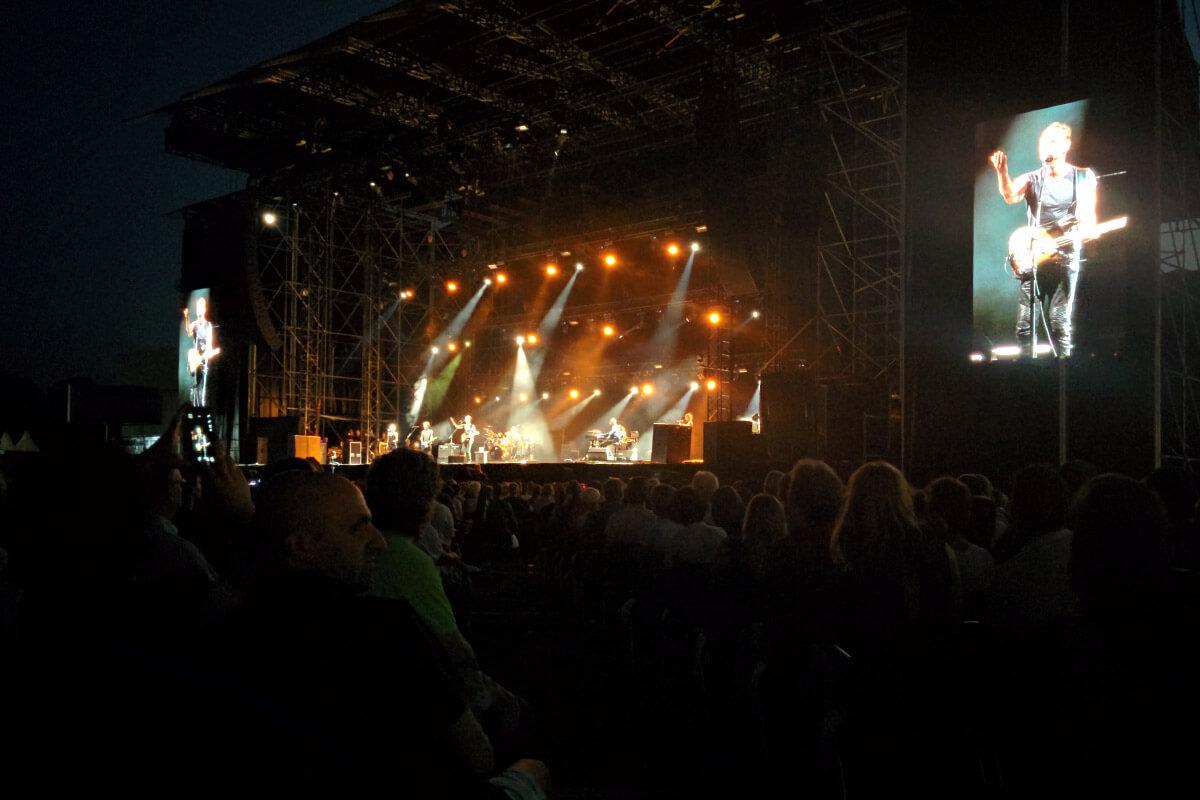 Sting ad Assago Summer Arena (Milano), concerto 2016
